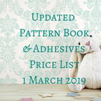 1 March 2019 Price List