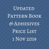 updated price list 1 Nov 2019